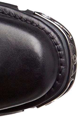 New Rock Unisex-Erwachsene M-1482X-S1 Biker Boots, Schwarz (Black 001), 42 EU - 7
