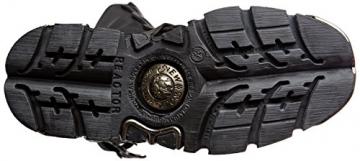 New Rock Unisex-Erwachsene M-391X-S1 Biker Boots, Schwarz (Black 001), 44 EU - 3