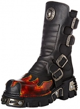 New Rock Unisex-Erwachsene M-591X-S1 Biker Boots, Schwarz (Black 001), 41 EU - 1
