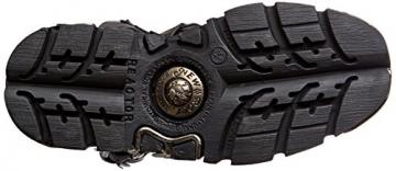 New Rock Unisex-Erwachsene M-591X-S1 Biker Boots, Schwarz (Black 001), 41 EU - 3