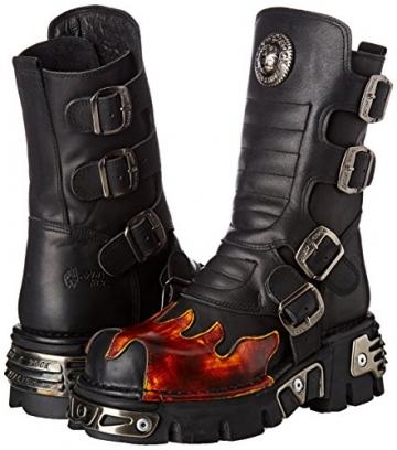 New Rock Unisex-Erwachsene M-591X-S1 Biker Boots, Schwarz (Black 001), 41 EU - 5