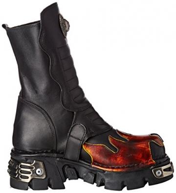 New Rock Unisex-Erwachsene M-591X-S1 Biker Boots, Schwarz (Black 001), 41 EU - 6