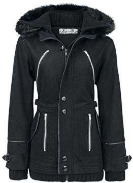 Poizen Industries Chase Coat Winterjacke schwarz M - 1