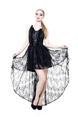 Queen of Darkness Kleid Dream of Black Love - 1