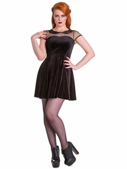Spin Doctor Kleid Nina Mini Dress 4542 Schwarz XL - 1