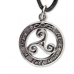 Triskelen Anhänger Keltischer 925er Silber Schmuck etNox Schutzamulett 544 - 1